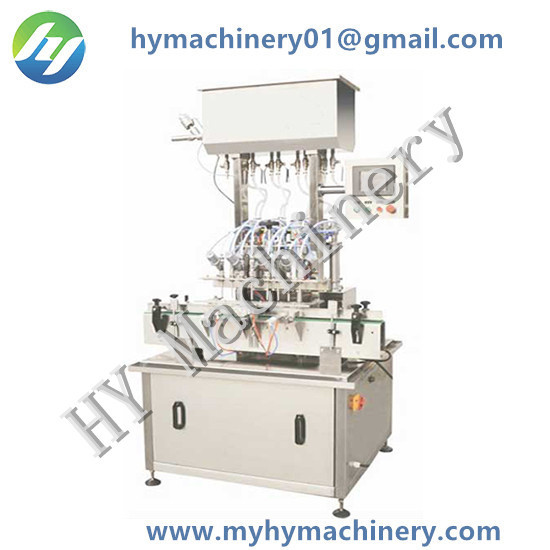 Automatic 100ml Volume Piston Filling Machine