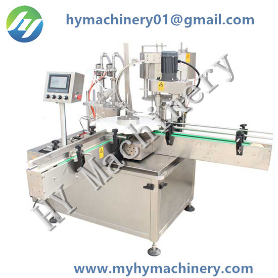 Rotating Disk Filling and Capping Machine
