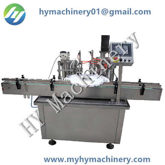 Rotating Disk Filling Plugger Capping Machine