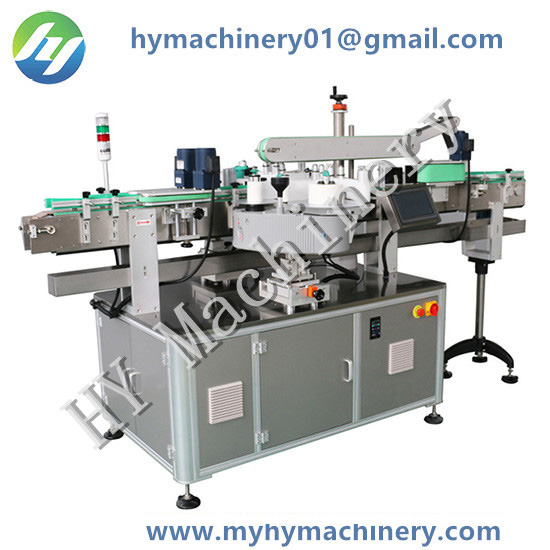 Automatic Front and Backside Sticker Bottle Labeling Machine
