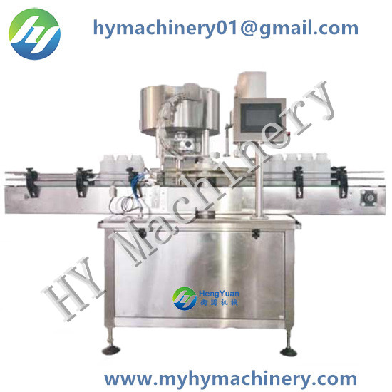 Automatic Rotating Single Head Capping Machine