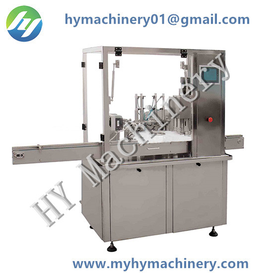 Star Wheel High Speed Filling Plugger Capping Machine