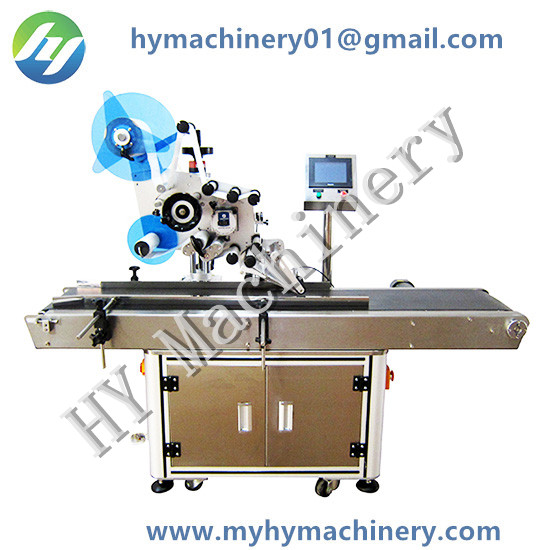 Automatic Top Surface Flat Labeling Machine