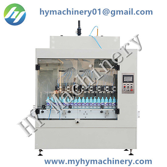 Automatic Gravity Flowing Anti Corrosive Bottle Filling Machine