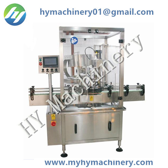 Automatic Star Wheel Single Head Fetching Type Capping Machine