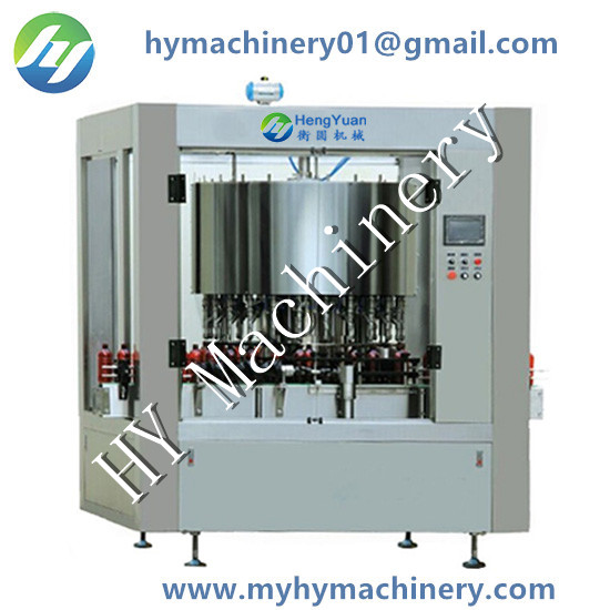 Automatic Rotary Gravity Flowing Liquid Filling Machine