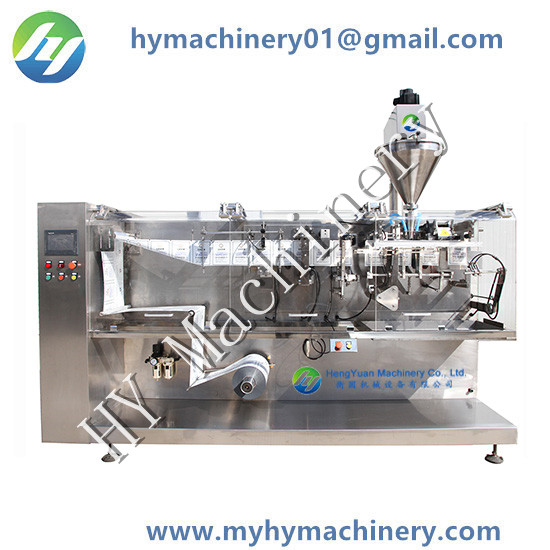 HY-130 HFFS Horizontal Forming Filling Sealing Pouch Packing Machine