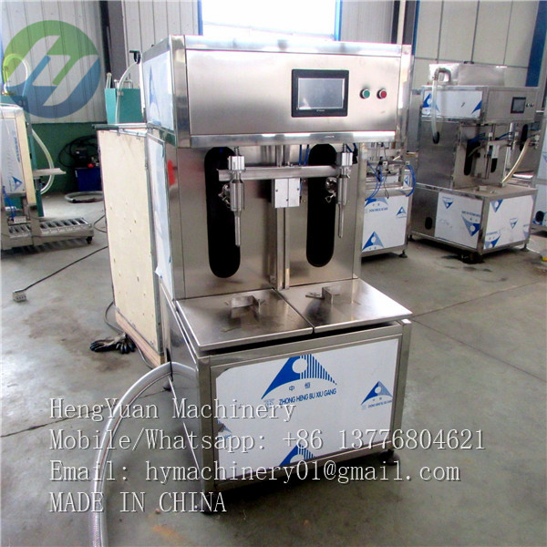 Semi Automatic 1-5kg Weighing Type Liquid Filling Machine
