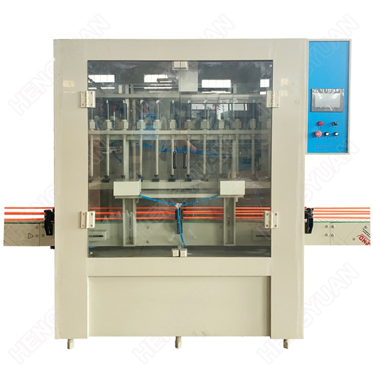 Automatic 1 to 5 Liters Gravity Flowing Anti-Corrosive Bottle Liquid Filling Machine