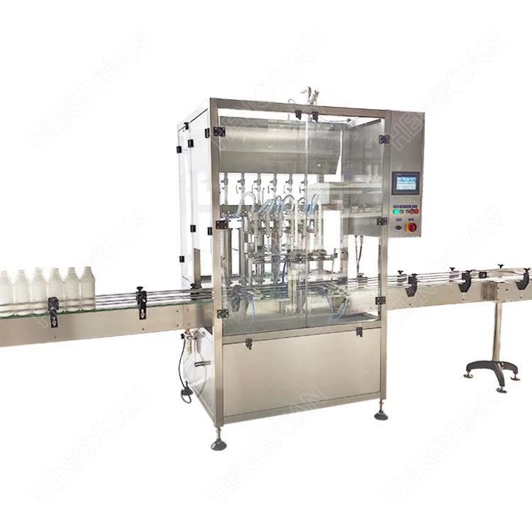 Automatic Mixing Type 1Liter Volume Piston Filling Machine