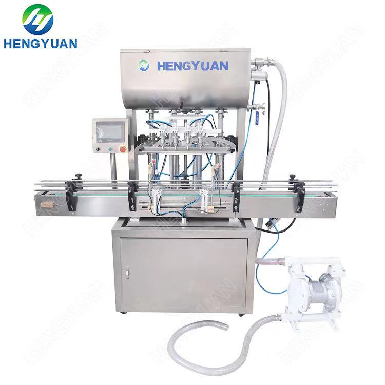 Automatic 1Liter Volume Air Cylinder Driven Piston Filling Machine