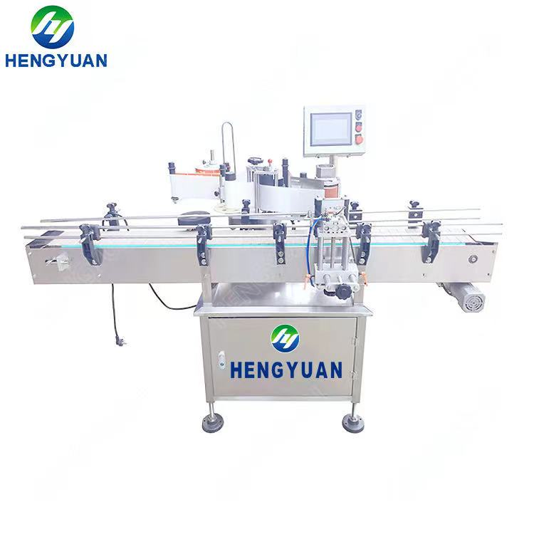 Automatic Clamping Round Bottle Labeling Machine