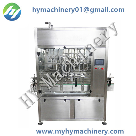 Automatic Gravity Flowing Bottle Filling Machine