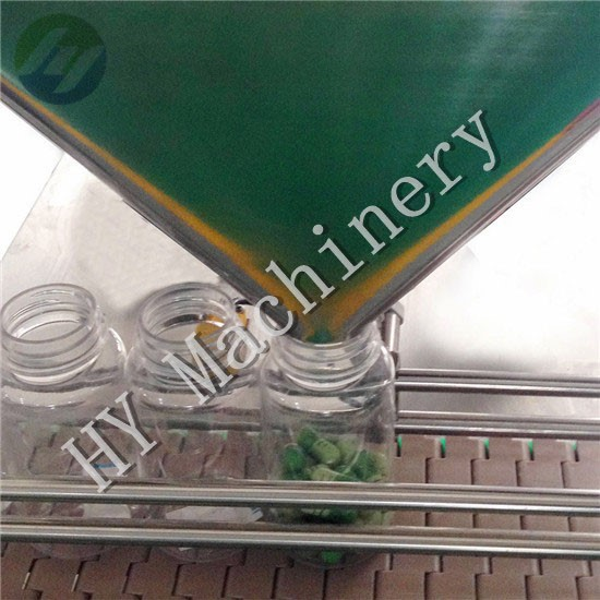 automatic electronic caplet counting bottle filling machine