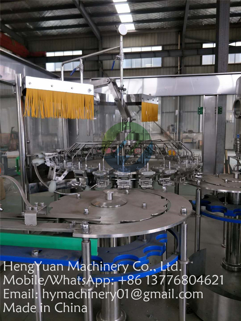 beverage drinking water pet bottle washing filling capping machine