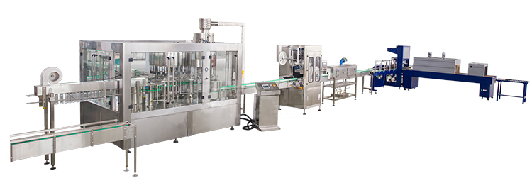 mineral drink water filling machine line