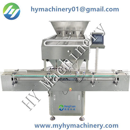 48 channels automatic electronic counting filling machine