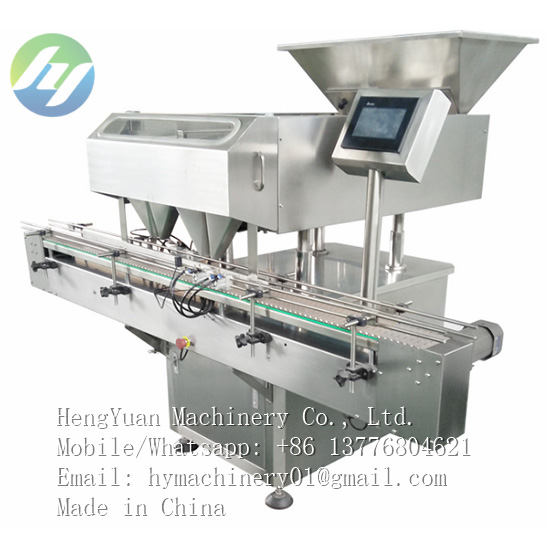 automatic tablets counting bottle filling machine