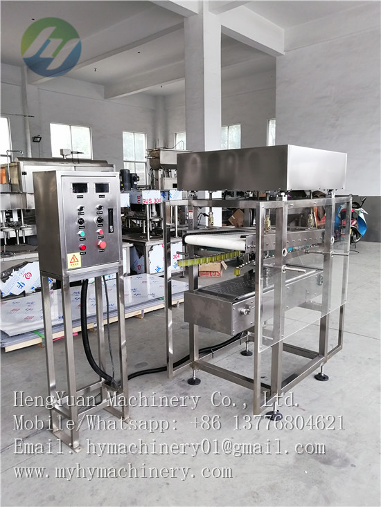 engine oil plastic pail lid sealing machinery
