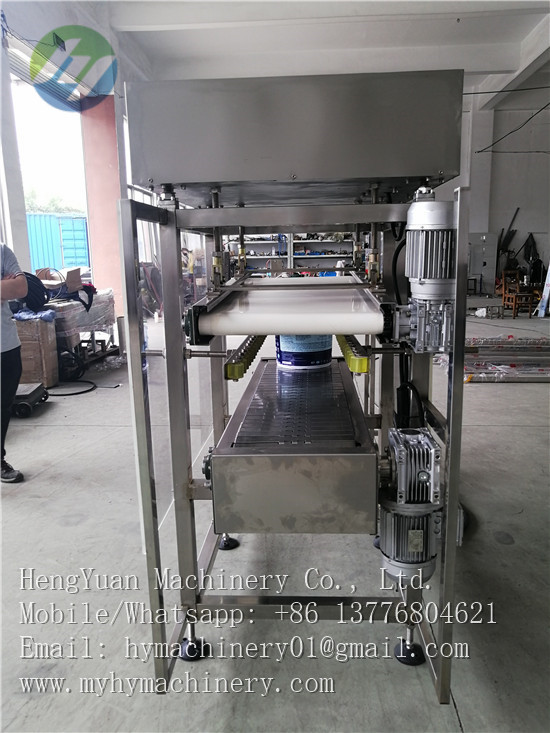 semi automatic pail lid pressing capper packing machinery