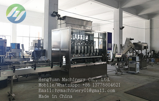 lubricant oil weighing filling machinery