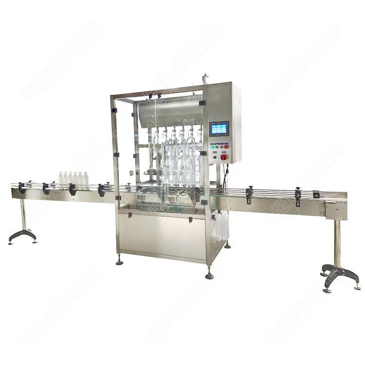 automatic chilli sauce filling machine