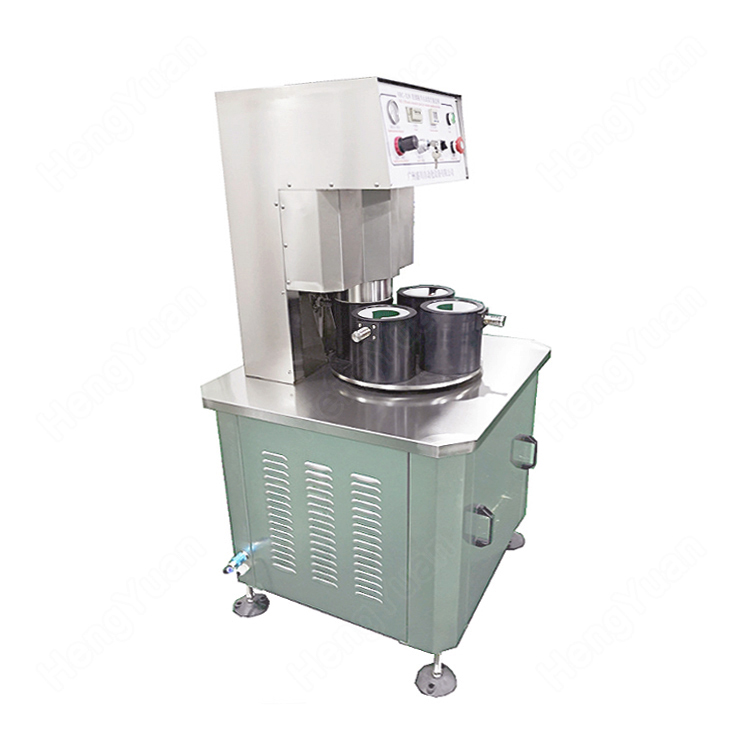 semi-automatic Beef Sauce Glass Jar Vacuum Capping Machine